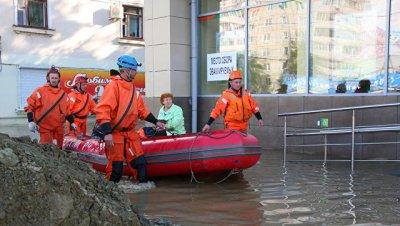 В Забайкалье ввели режим ЧС из-за паводков