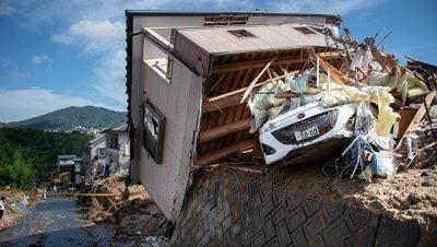 Число погибших из-за ливней в Японии выросло до 100 человек