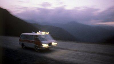 В Киргизии упал вертолет