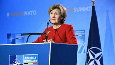 Позиции США и НАТО по Крыму совпадают, заявила постпред при альянсе