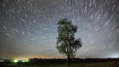 Новолуние поможет россиянам увидеть необычно яркий метеорный поток