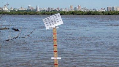 Уровень Амура у Хабаровска начал снижаться
