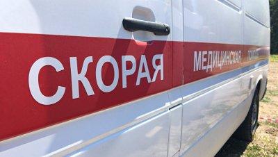 В Дагестане легковушка столкнулась с поездом