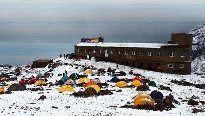 В Грузии выпал снег
