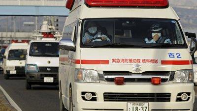 В Японии разбился вертолет службы спасения