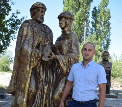 Скульптура для города-героя