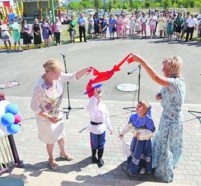 Детский сад «Садко» на 220 мест открылся в Белой Калитве