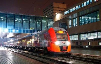 Между Ростовом и Воронежем начнет ходить скоростной поезд