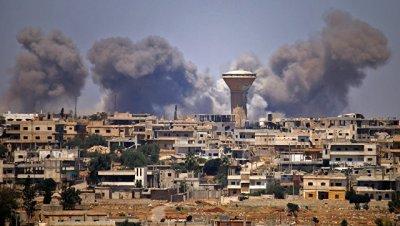 Террористы обстреляли населенный пункт Махарда в Сирии