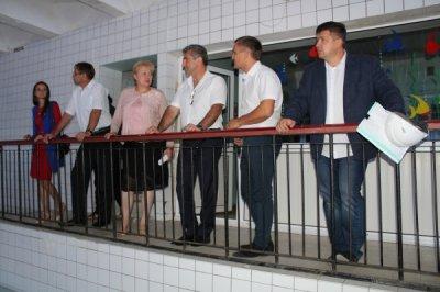 Министр по физической культуре и спорту Ростовской области посетил Белую Калитву