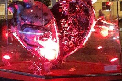 На ростовской набережной разбили «стимпанковское» сердце