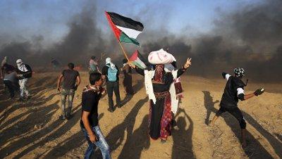 Число раненых в стычках с израильскими военными в Газе достигло 376 человек
