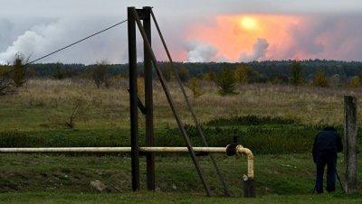 На Украине рассказали об интенсивности взрывов на арсенале под Черниговом