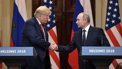 СМИ назвали возможные время и место встречи Путина с Трампом