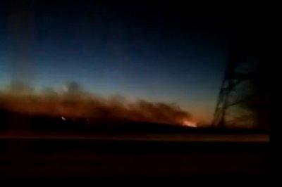 Рядом с Новочеркасском произошел крупный ландшафтный пожар