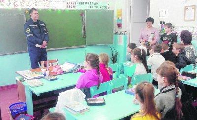 В школах Белокалитвинского района - месячник гражданской обороны