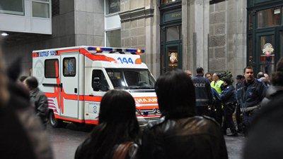 В Швейцарии не менее 13 человек пострадали в ДТП с туристическим автобусом