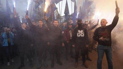 В Киеве завершился марш националистов