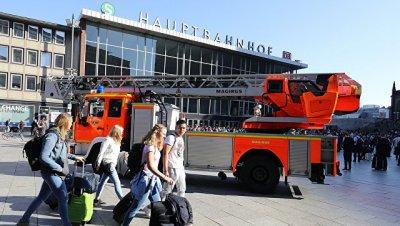 У полиции в Кельне нет информации о числе заложников в районе вокзала