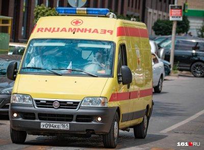 В центре Ростова на пешеходном переходе умер мужчина