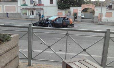 Первая потеря: пьяный ростовчанин разбил автомобиль каршеринга