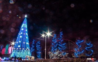 На главную городскую новогоднюю елку в Ростове потратят 750 тысяч рублей