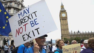В Британии не исключили проведения нового референдума по Brexit