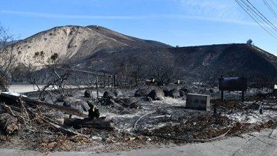 Ущерб от пожаров в Калифорнии оценили в 9-13 миллиардов долларов