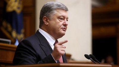 Порошенко обвинил Россию в попытках повлиять на украинские выборы
