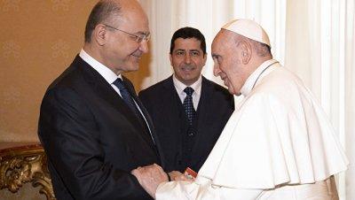 Папа Франциск обсудил с президентом Ирака политическую ситуацию в стране