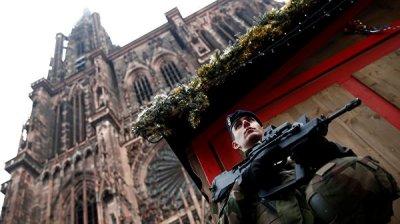 Во Франции задержали четырех человек из окружения стрелявшего в Страсбурге