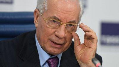 Азаров заявил, что итоги президентских выборов на Украине сфальсифицируют