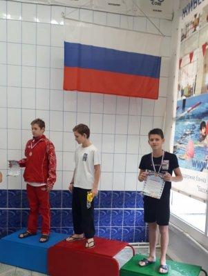 Белокалитвинский пловец Роман Кураленко - бронзовый призер областных соревнований по плаванию