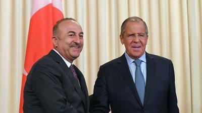 Лавров и Чавушоглу обсудили в Баку ситуацию в Сирии и на Украине