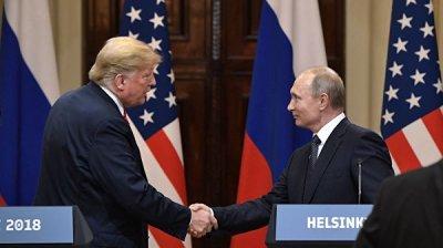 Более 40% россиян считают, что нужно стремиться к встрече Путина и Трампа