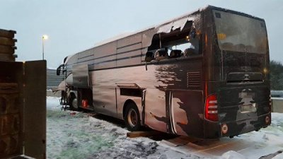 В ДТП с автобусом в Швейцарии пострадали десять россиян