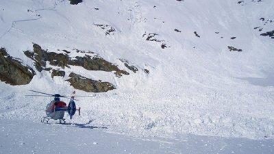 В Австрии из-за лавины погибли трое лыжников из Германии