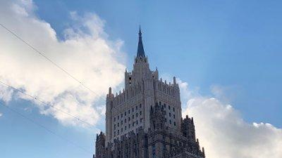 Посетившие брифинг МИД России дипломаты ЕС не стали комментировать встречу