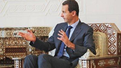 Асад считает Россию мощнее СССР благодаря силе духа