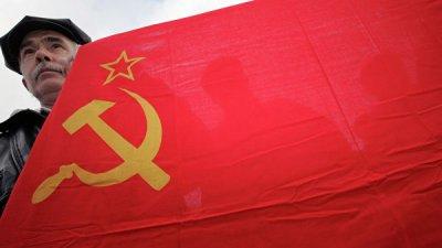 В Юрмале оштрафовали мужчину, размахивавшего флагом СССР
