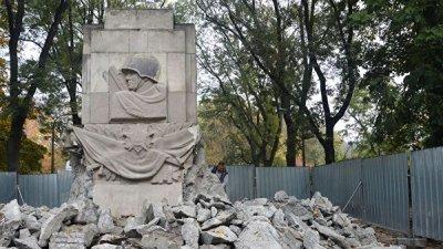 С 2014 года в Польше снесли около 100 памятников советским воинам