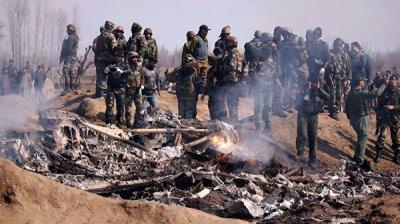СМИ сообщили об увеличении числа жертв крушения вертолета ВВС Индии