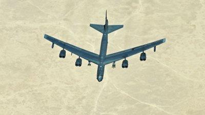 B-52 пролетел рядом со спорными островами в Южно-Китайском море