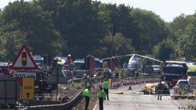 В Британии оправдали пилота, самолет которого упал на зрителей авиашоу