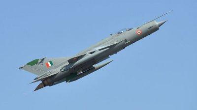 В Индии потерпел крушение истребитель МиГ-21