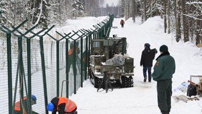 Латвия достроила почти 100 километров забора на границе с Россией