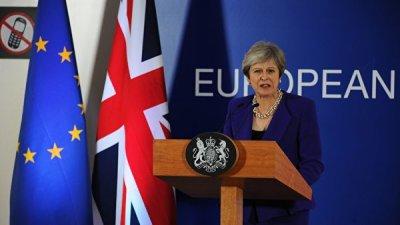 Мэй и Юнкер согласовали изменения в соглашении по Brexit