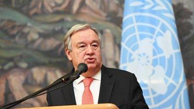 Генсек ООН обсудил с главой МИД Египта угрозу терроризма