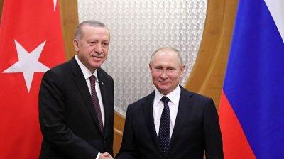 Эксперт прокомментировал повестку предстоящих переговоров Путина и Эрдогана