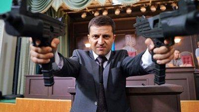 Украинский телеканал хочет показать фильмы с Зеленским в